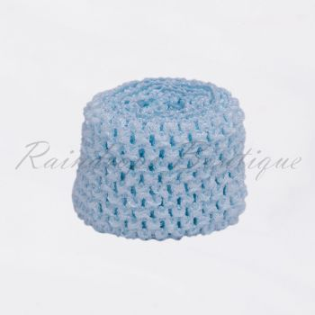 Ice Blue band By The Metre 2.75 Inches